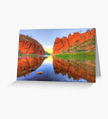Colours of the Territory Greeting Card