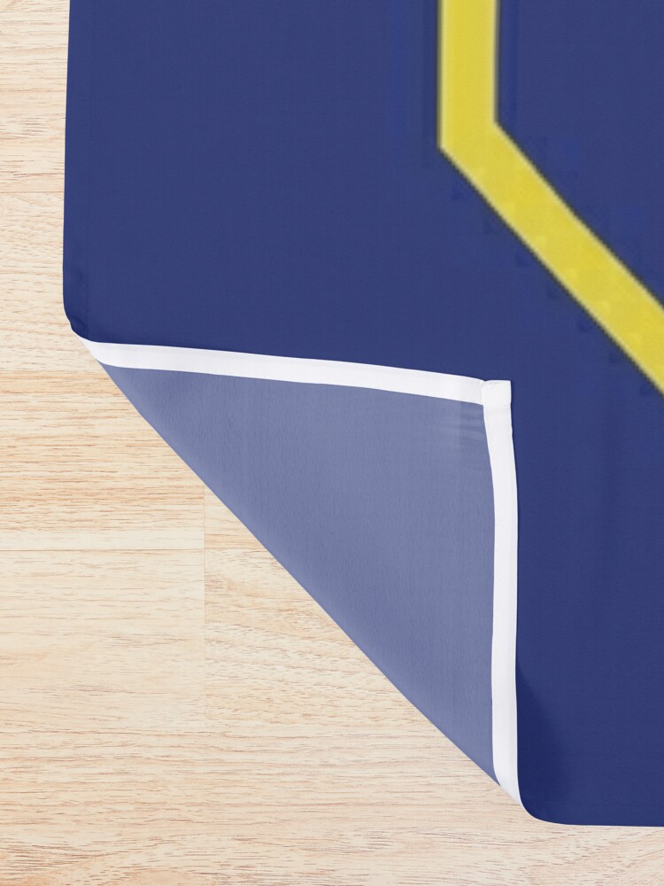 Alternate view of All Might Jersey Shower Curtain
