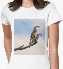 Yellow Billed Hornbill - Beak of Format Womens Fitted T-Shirt