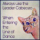 Milonga Cat - Use the Leader Cabeceo by infinitetango