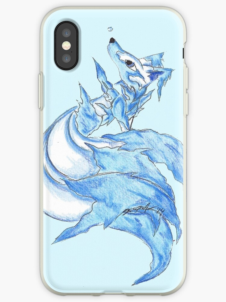 Ice Kitsune by KOKeefeArt