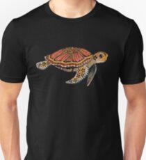 Sea Turtle Totem Slim Fit T-Shirt