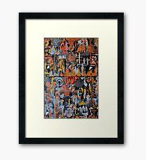 HaRdLove Framed Print