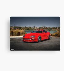 Toyota Supra MK4 Canvas Print