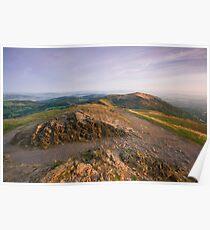Malvern Hills: Autumn Gold Poster