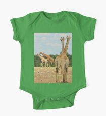 Giraffe - Jealousy and Funny Love One Piece - Short Sleeve