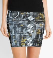 """Beyond Metallurgica Mini Skirt"