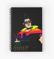 Mr. Steal-Yo-Bird Spiral Notebook