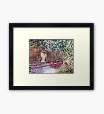 Under the Oleander Tree Framed Print