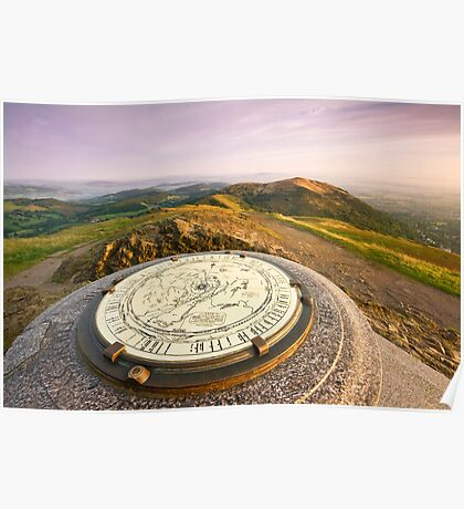 The Malvern Hills : Worcestershire Beacon Poster