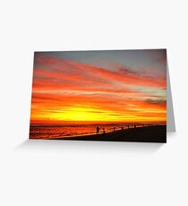 Yanchep Beach Lagoon     Western Australia Greeting Card