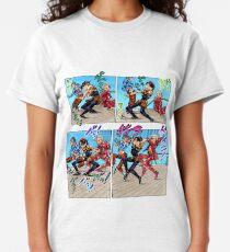 JOJO'S BIZARRE ADVENTURE Goldener Wind Foltertanz Classic T-Shirt