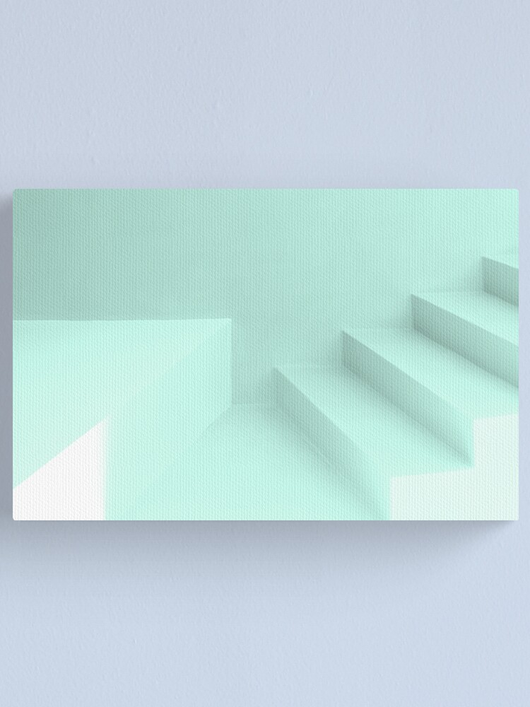 Alternate view of where the stairs do not lead Canvas Print
