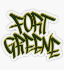 Fort Greene Transparent Sticker