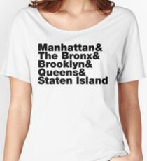Five Boroughs ~ New York City Women's Relaxed Fit T-Shirt