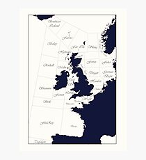 Shipping Forecast Photographic Print