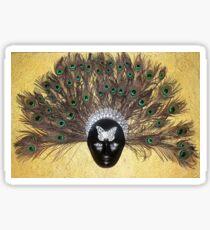 Masquerade Glossy Sticker