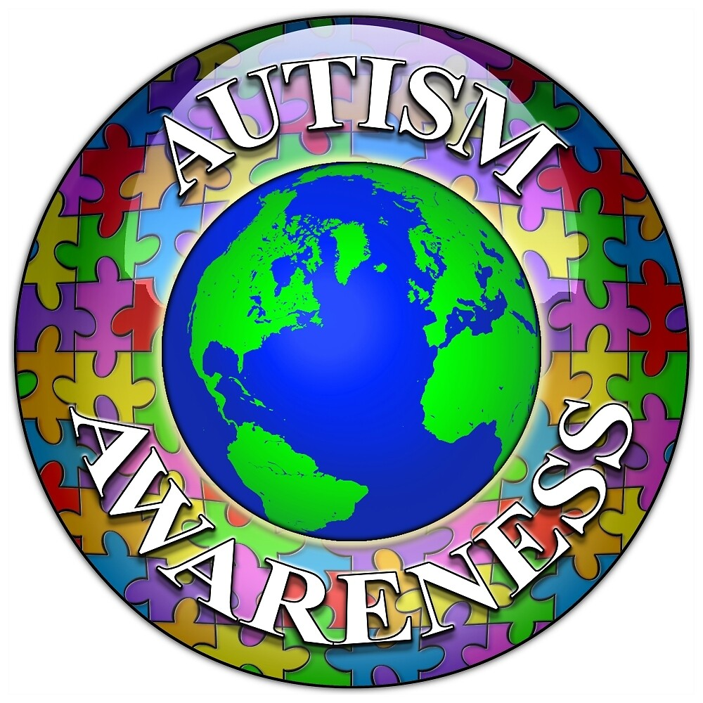 Autism awareness world by bmgdesigns