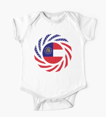 Georgian Murican Patriot Flag Series Kids Clothes