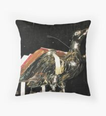 Lectern in Lincoln Cathedral Throw Pillow