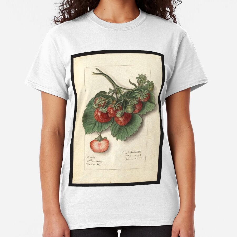 Vintage Strawberries Classic T-Shirt
