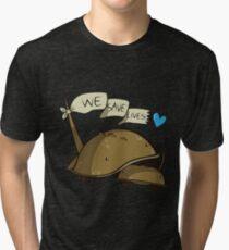 We Save Lives Tri-blend T-Shirt