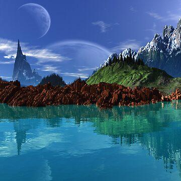 Lathinium Spire - Earthsea by AlienVisitor