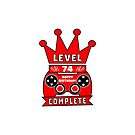 Level 74 Complete by wordpower900