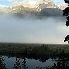 Mirror Lake - New Zealand by Louise Linossi Telfer