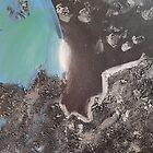 «La tierra desde la visión de un asteroide» de TheBankArtist