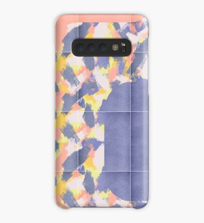 Messy Painted Tiles 01 #redbubble #midmod Case/Skin for Samsung Galaxy