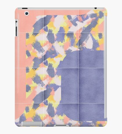 Messy Painted Tiles 01 #redbubble #midmod iPad Case/Skin