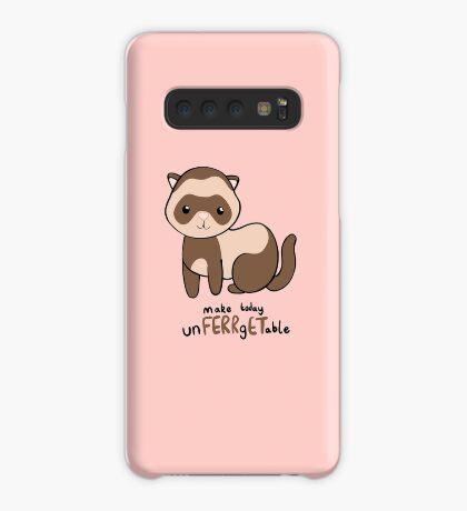 unFERRgETable - Ferret love motivational design Case/Skin for Samsung Galaxy