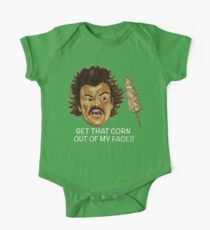 Get that Corn Out of My Face!! One Piece - Short Sleeve