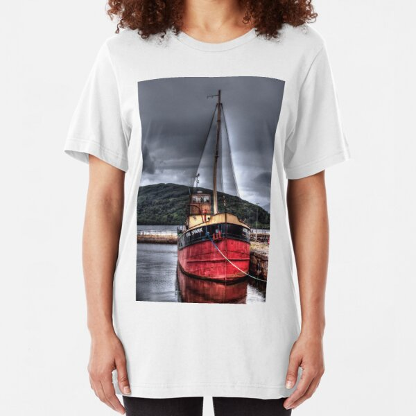 Vital Spark - The Clyde Puffer Slim Fit T-Shirt