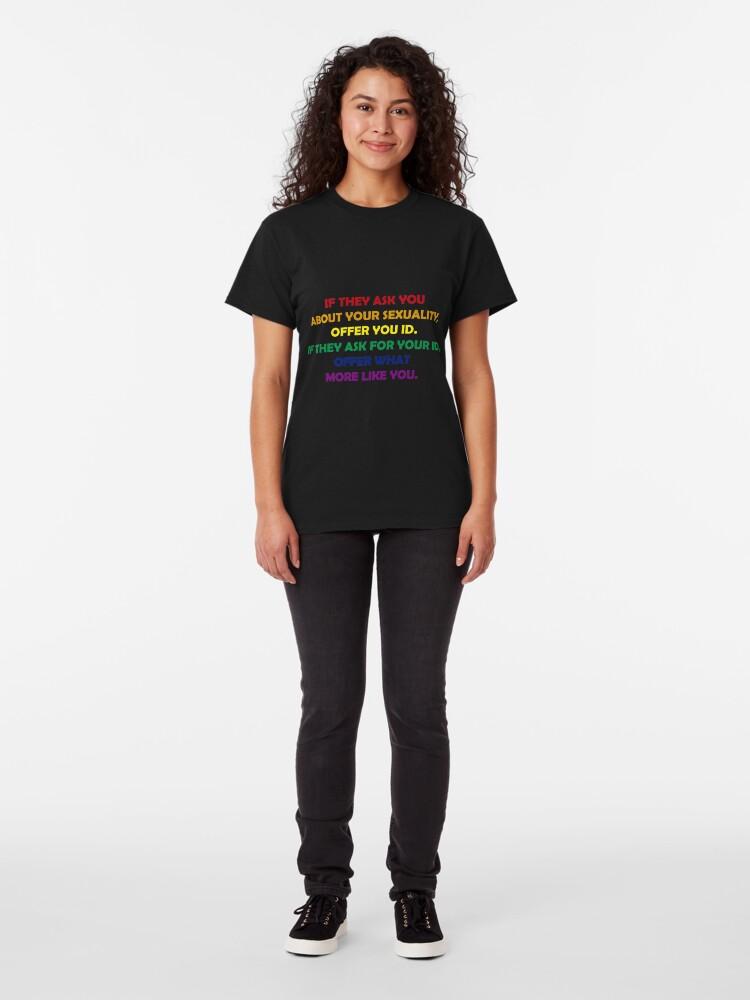 Vista alternativa de Camiseta clásica SEXUAL FREEDOM