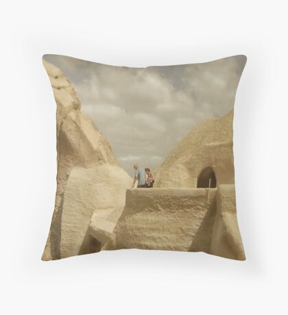 A Less Intricate World Throw Pillow