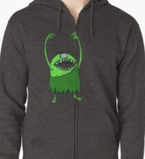 PrimalScream Zipped Hoodie