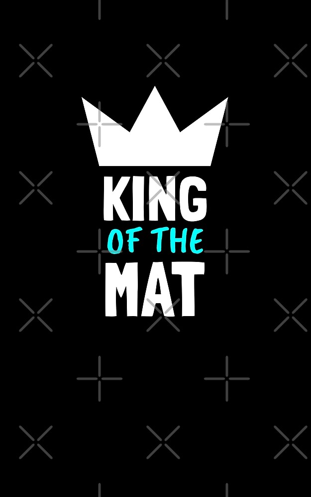 BJJ King Of The Mat by Energetic-Mind