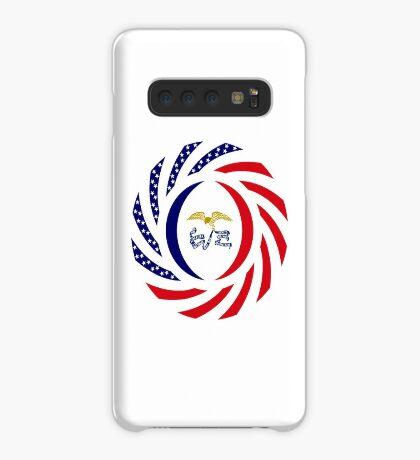 Iowa Murican Patriot Flag Series Case/Skin for Samsung Galaxy