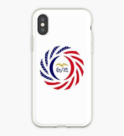 Iowa Murican Patriot Flag Series iPhone Case