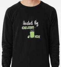 Celery Juice - Healed by Celery Juice Lightweight Sweatshirt
