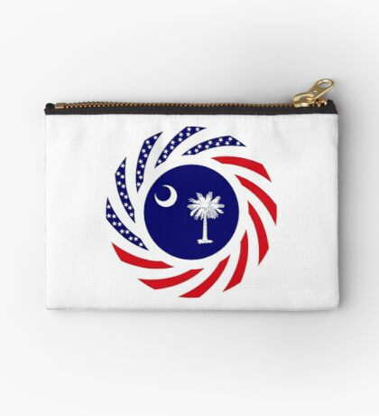 South Carolina Murican Patriot Flag Series Zipper Pouch