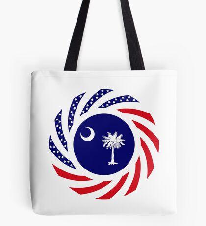 South Carolina Murican Patriot Flag Series Tote Bag