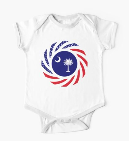 South Carolina Murican Patriot Flag Series Kids Clothes