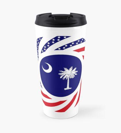 South Carolina Murican Patriot Flag Series Travel Mug