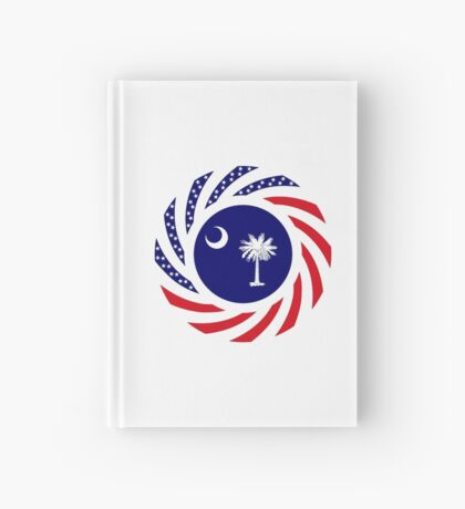 South Carolina Murican Patriot Flag Series Hardcover Journal