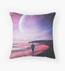 Night Stroll Throw Pillow
