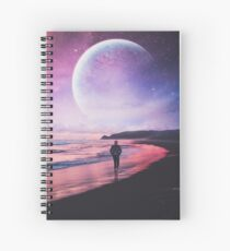 Night Stroll Spiral Notebook