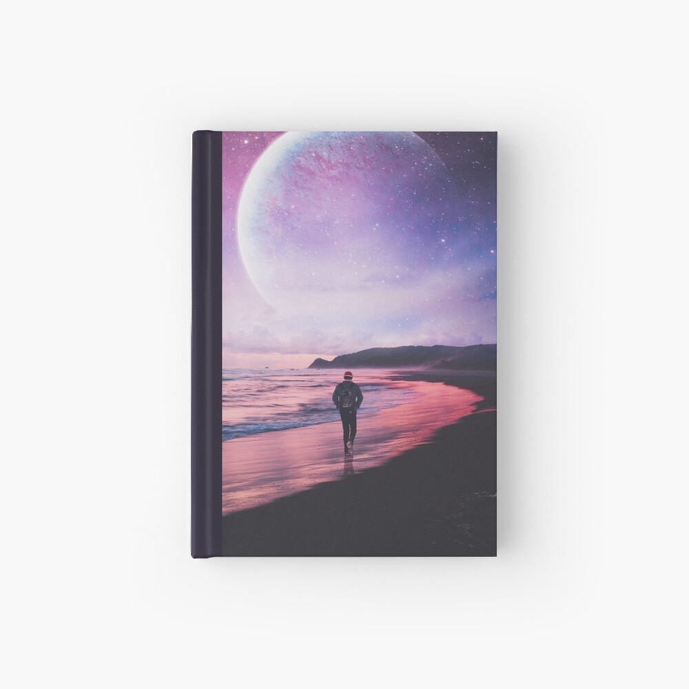 Night Stroll Hardcover Journal